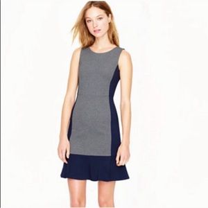 🎉 J Crew Colorblock Sleeveless Dress A4162 Size 6